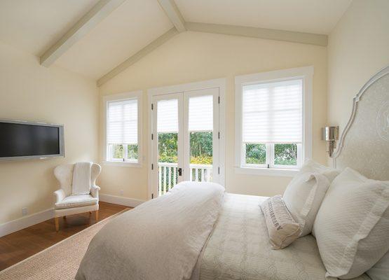Pleated Shades-Bedroom