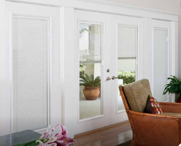 Blinds between the glass-Family room
