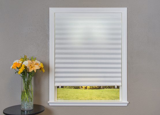 Temporary Paper Shades in White