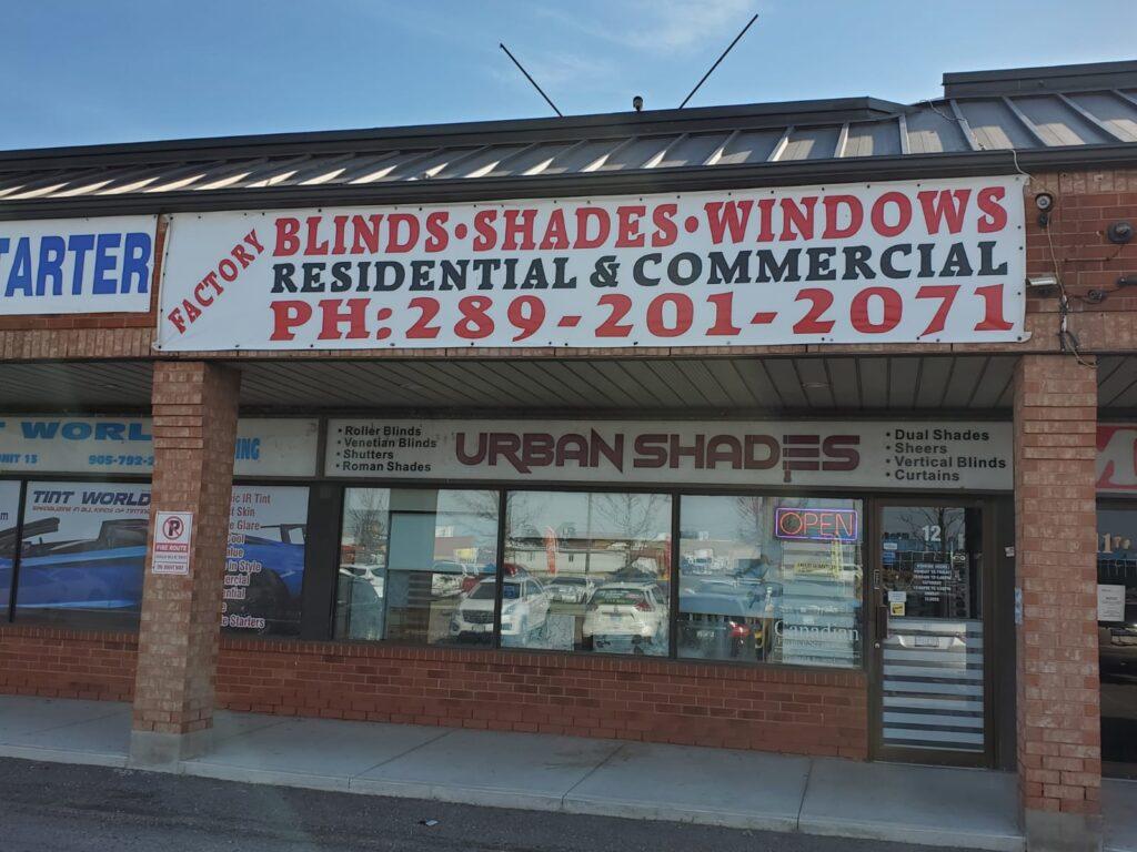 urban shades