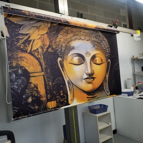 Customized Printed Roller Shade