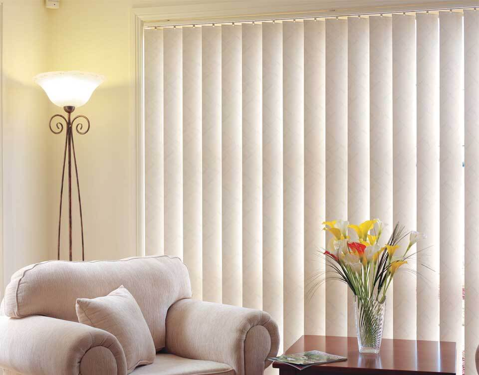 vertical-blind Window View